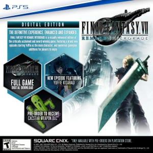 Final Fantasy 7 Remake Intergrade - Digital Standard Edition