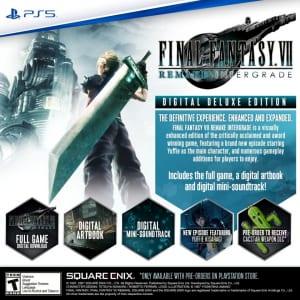 Final Fantasy 7 Remake Intergrade - Digital Deluxe Edition