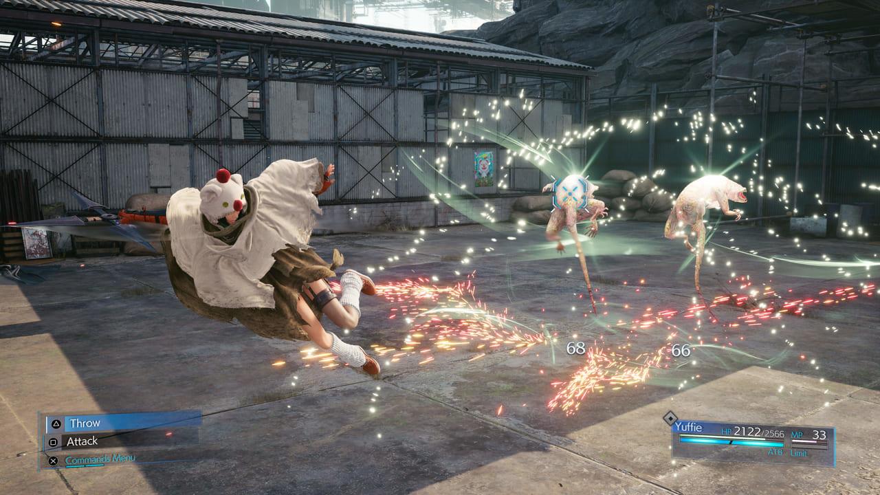 Yuffie Fighting Skill