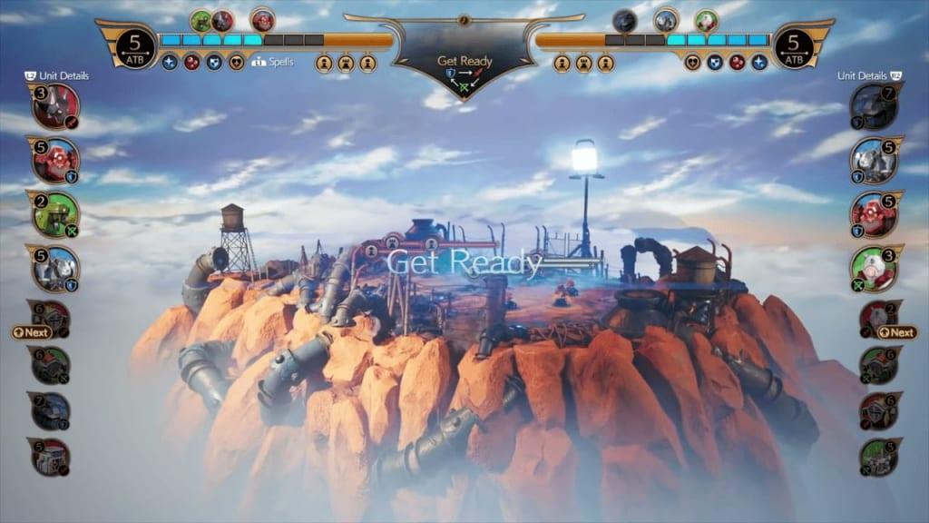 Final Fantasy 7 Remake Intergrade - Fort Condor Mini-Game Battle Start