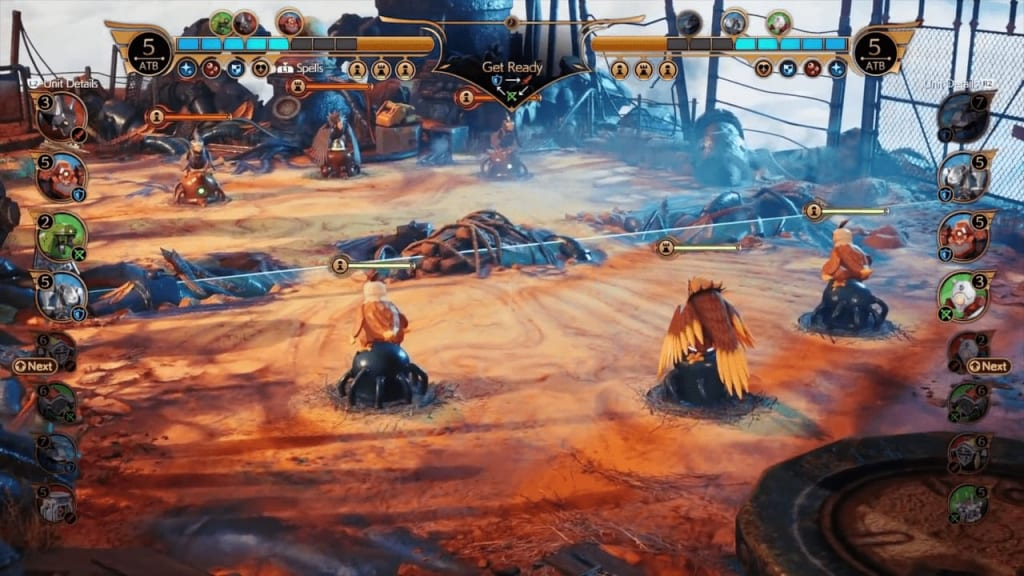 Final Fantasy 7 Remake Intergrade - Fort Condor Mini-Game Battlefield