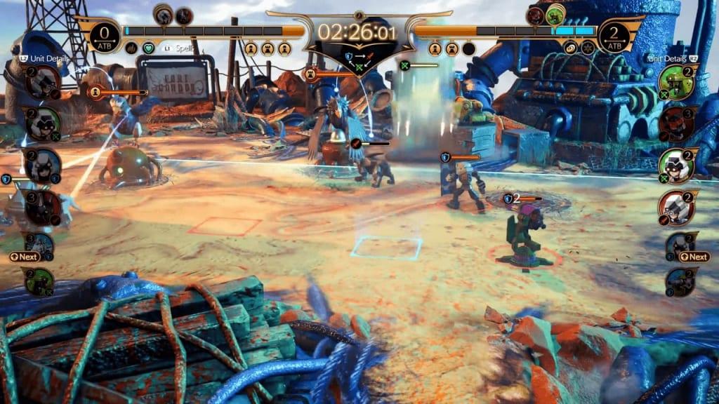 Final Fantasy 7 Remake Intergrade - Fort Condor Mini-Game Unit Placement Range