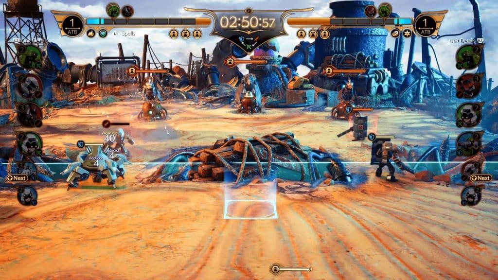 Final Fantasy 7 Remake Intergrade - Fort Condor Mini-Game Unit Placement