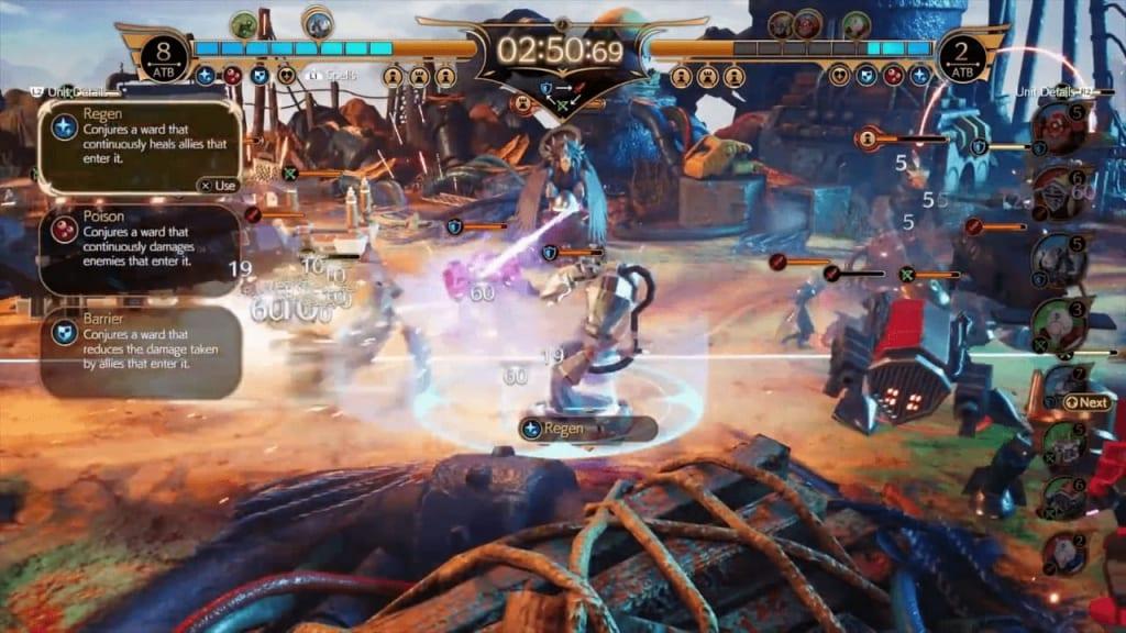 Final Fantasy 7 Remake Intergrade - Fort Condor Mini-Game Usable Spells