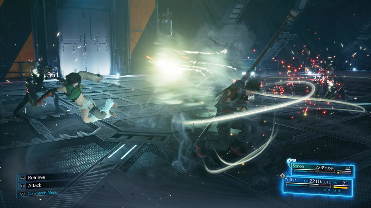 Final Fantasy 7 Remake Intergrade Synergized Windstorm