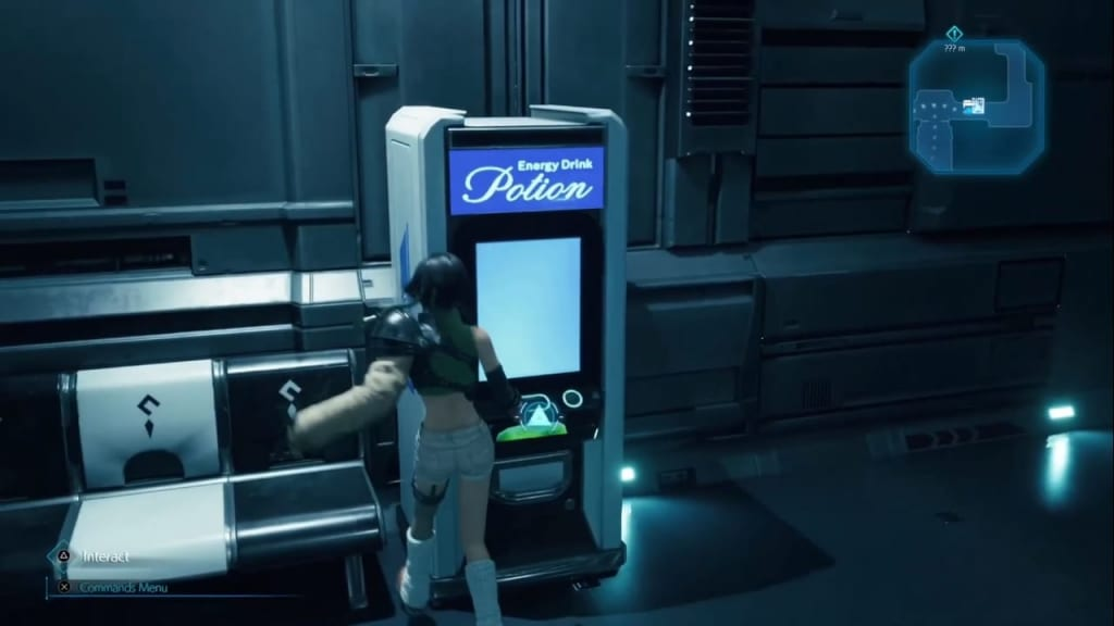 Final Fantasy 7 Remake Intergrade - Episode INTERmission Vending Machine Shop Items