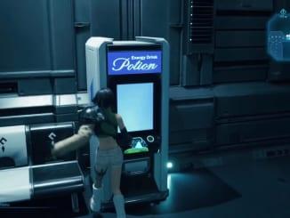 Final Fantasy 7 Remake Intergrade - Vending Machine Shop Items