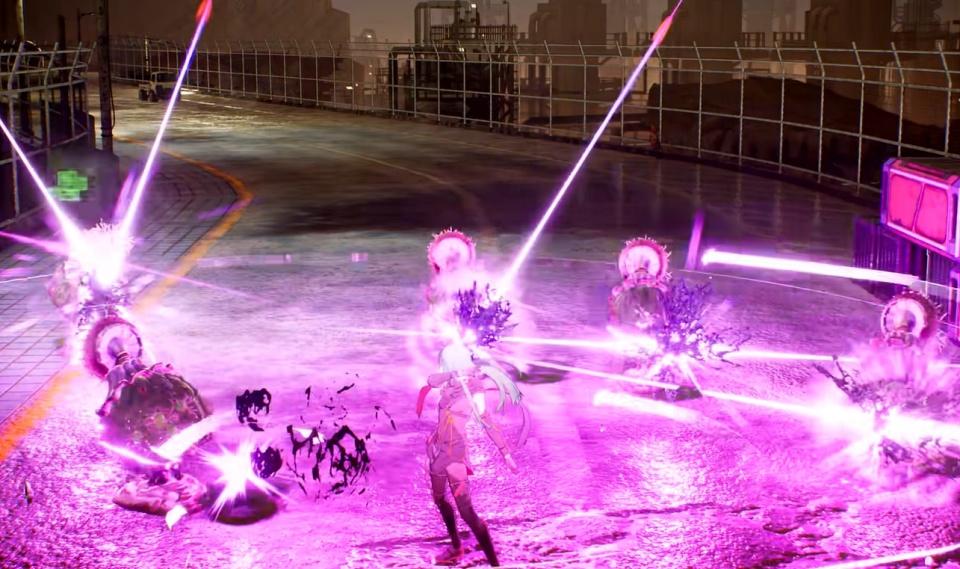 Scarlet Nexus - Combat