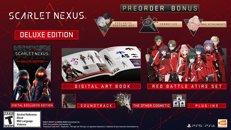 Scarlet Nexus - Digital Deluxe Edition