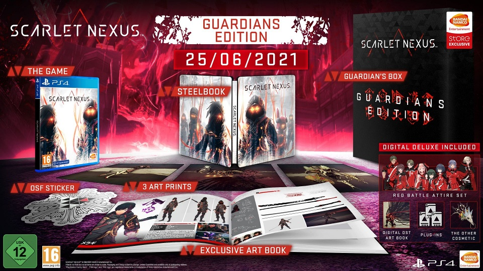 Scarlet Nexus - Guardians Edition