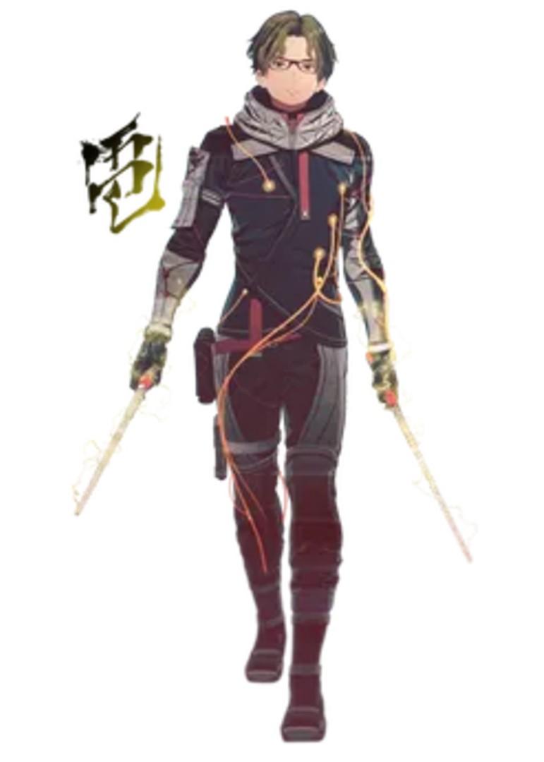 Scarlet Nexus - Shiden Ritter Character Companion Overview