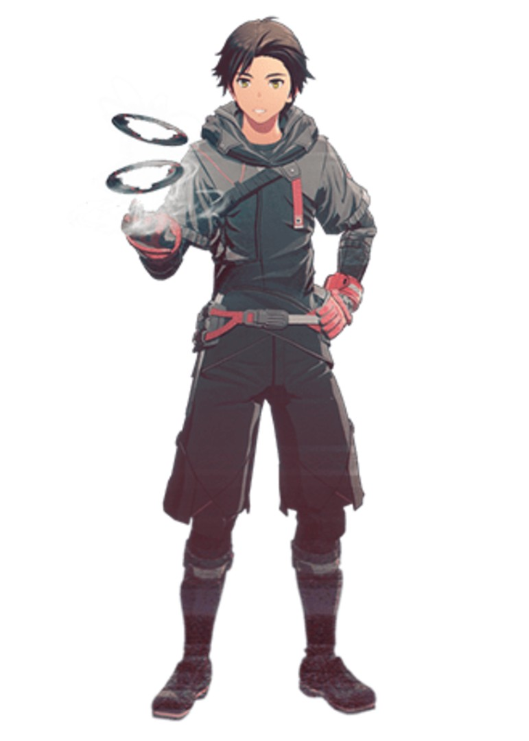 Scarlet Nexus - Nagi Karman Character Companion Overview