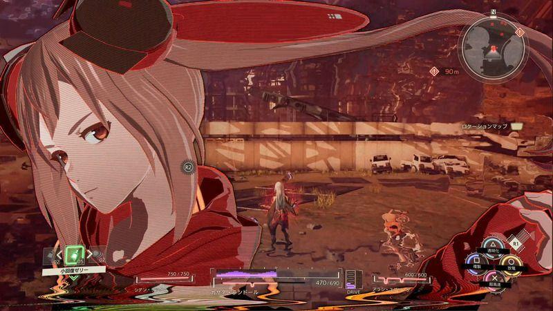 Scarlet Nexus - Arashi Spring Struggle Arms System (SAS) Borrowed Abilities