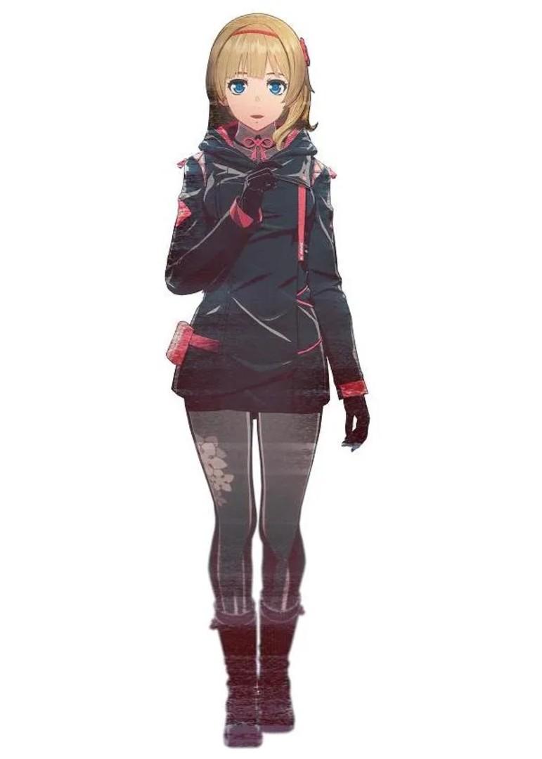 Scarlet Nexus - Naomi Randall Character Companion Guide
