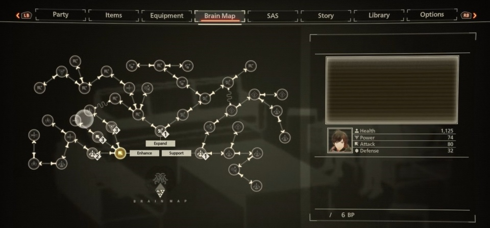 Scarlet Nexus - Best Brain Map Skills