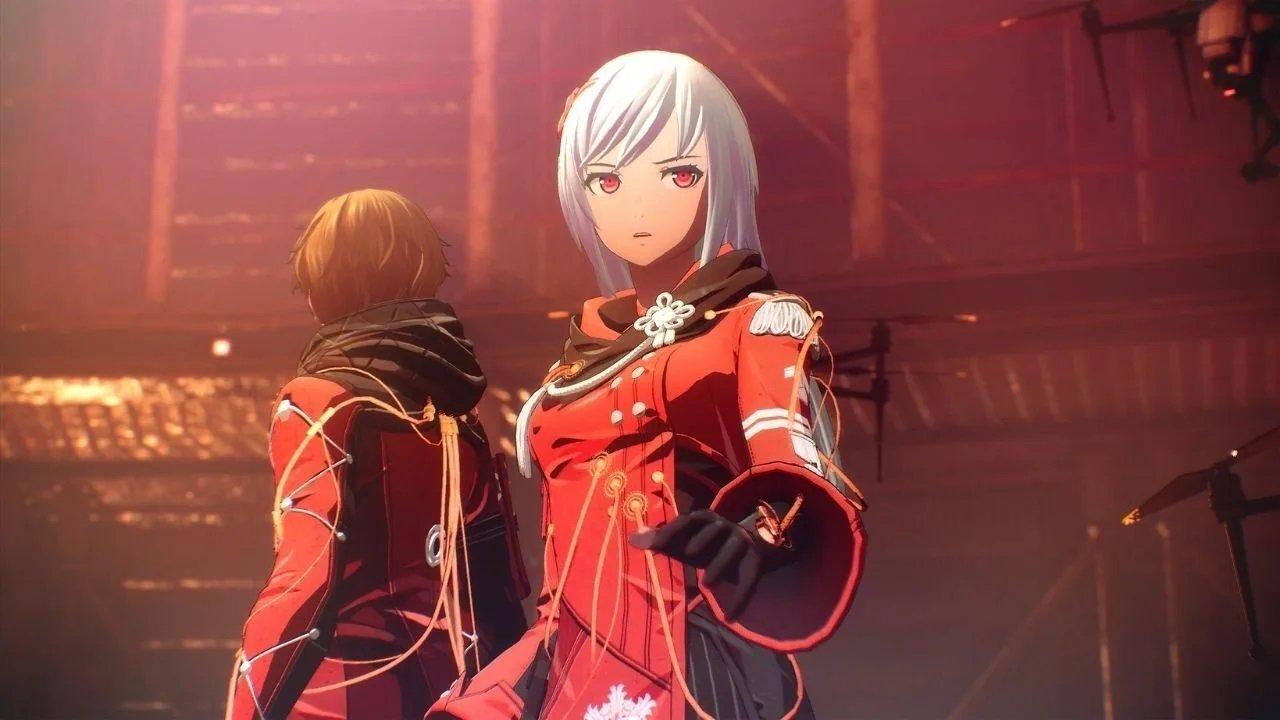 Scarlet Nexus Red Battle Attire