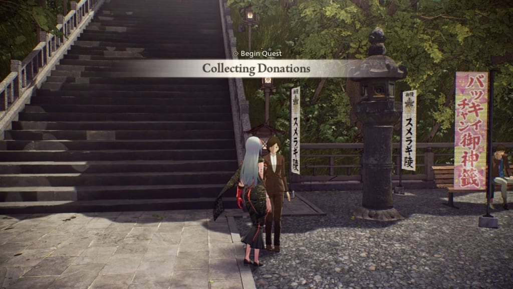 Scarlet Nexus - Collecting Donations Quest