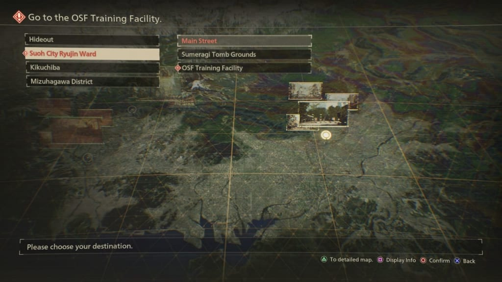 Scarlet Nexus - Collecting Donations Quest Location