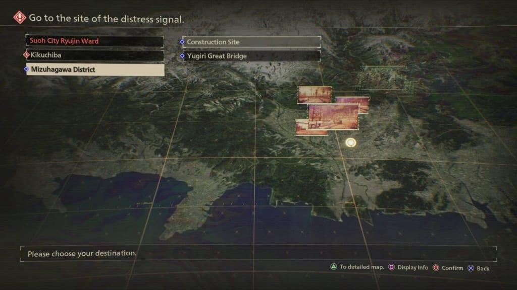 Scarlet Nexus - Top Cadet's Prowess Quest Location
