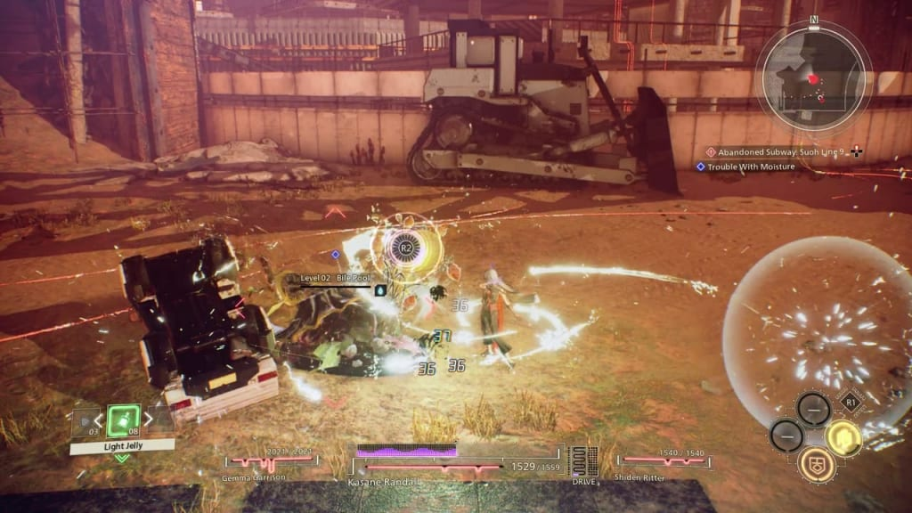 Scarlet Nexus - Trouble with Moisture Quest Use SAS Electrokinesis