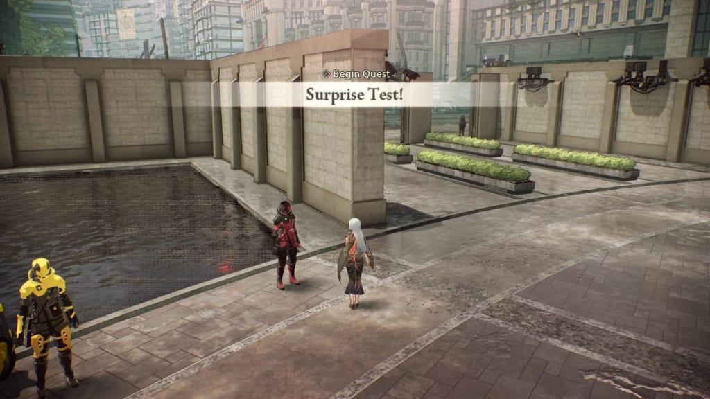 Scarlet Nexus - Surprise Test! Quest