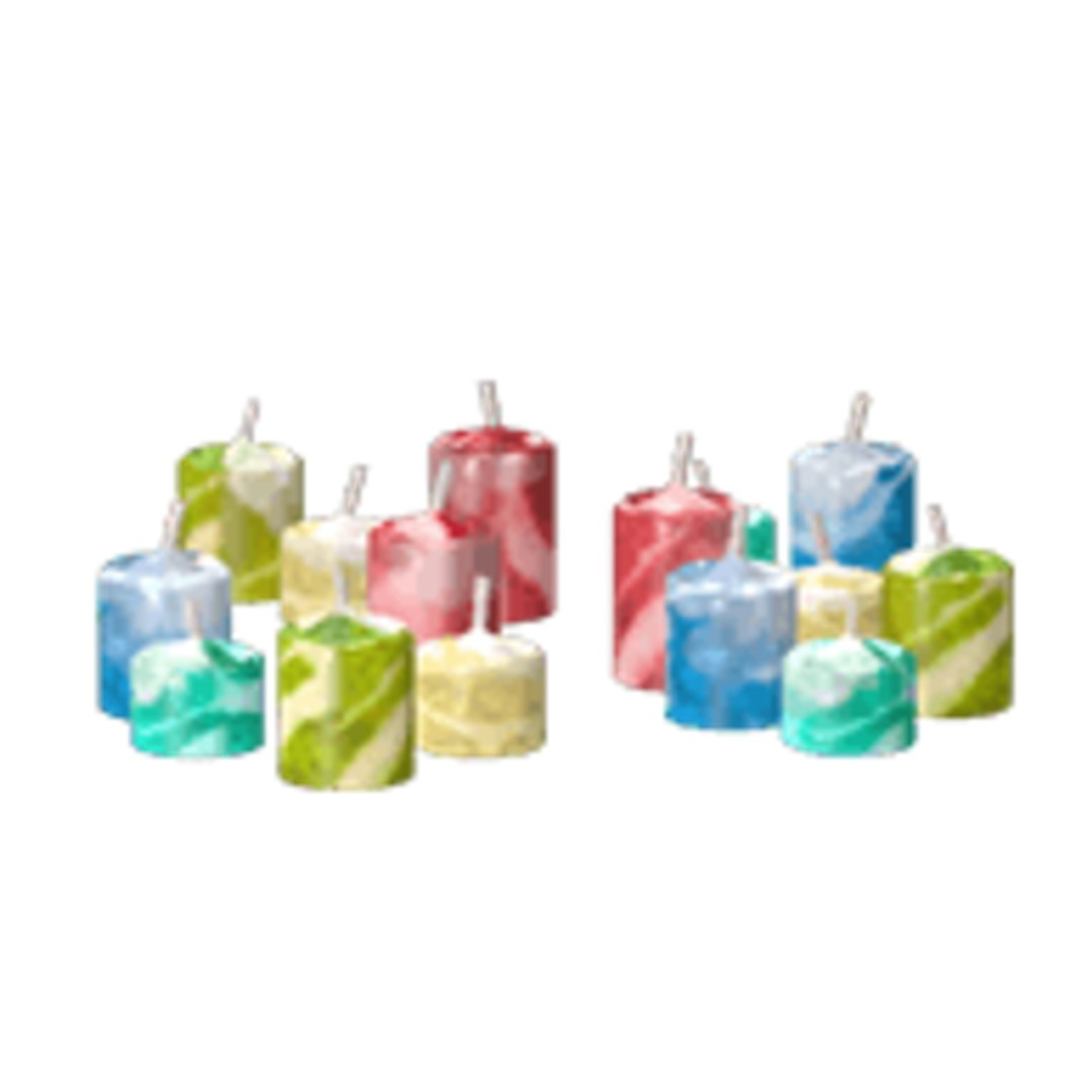 Scarlet Nexus Colored Candles