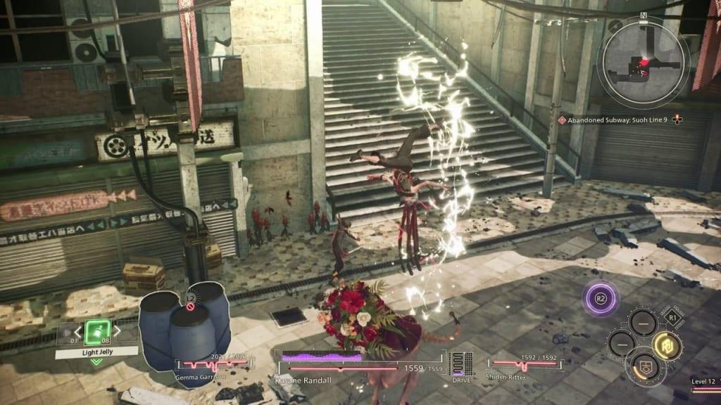 Scarlet Nexus - Surprise Test! Quest Use Electrokinesis