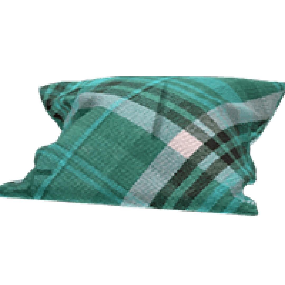 Scarlet Nexus Plaid Cushion