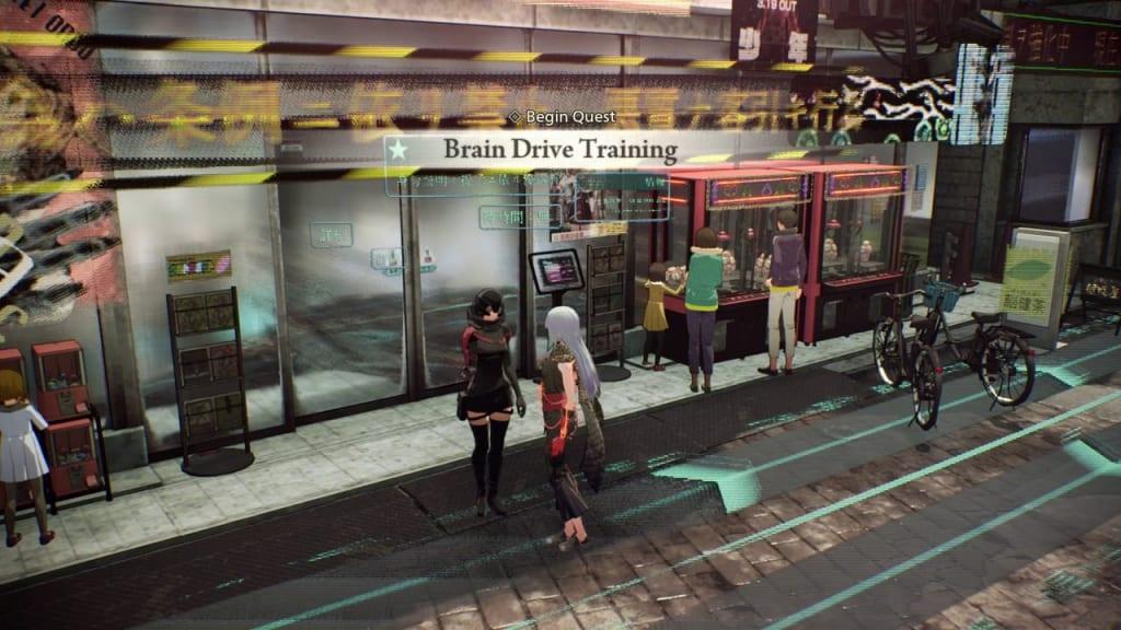 Scarlet Nexus - Brain Drive Training Quest