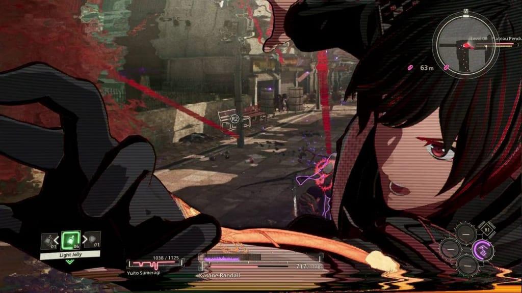 Scarlet Nexus - Yuito Sumeragi Struggle Arms System (SAS) Ability Attack