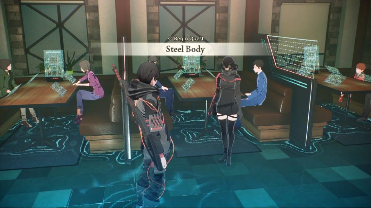 Scarlet Nexus Steel Body
