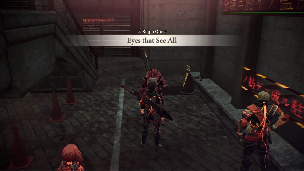 Scarlet Nexus Eyes That See All 1