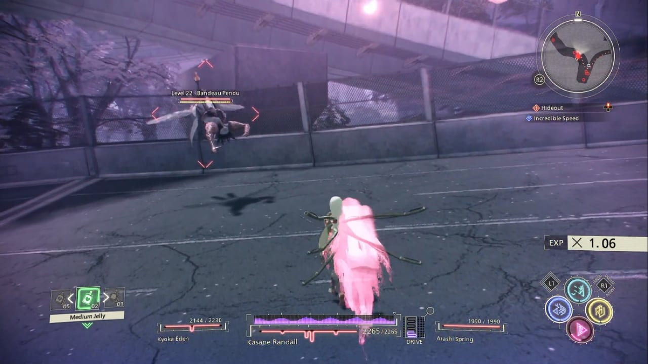 Scarlet Nexus Hypervelocity Side Quest