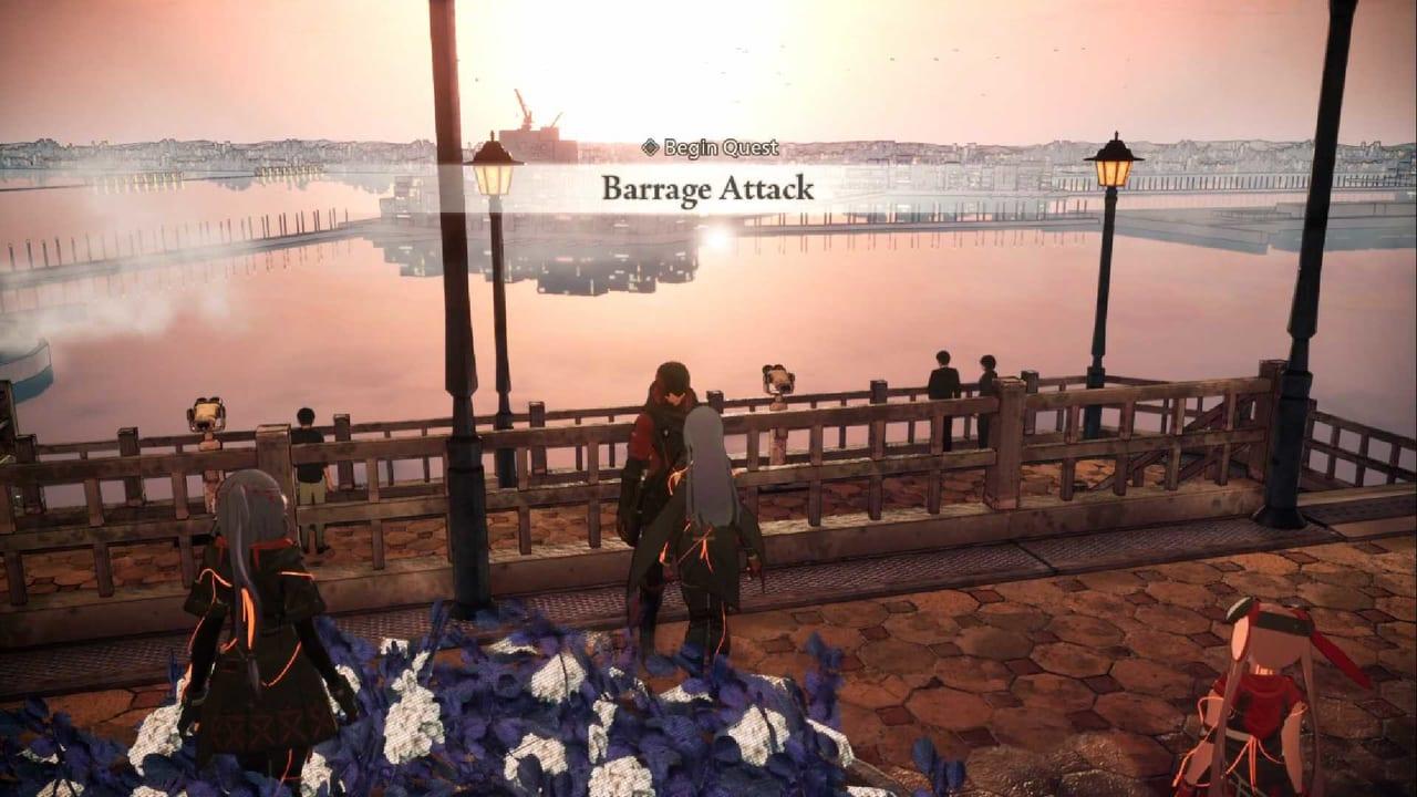 Scarlet Nexus Barrage-Attack-Pic