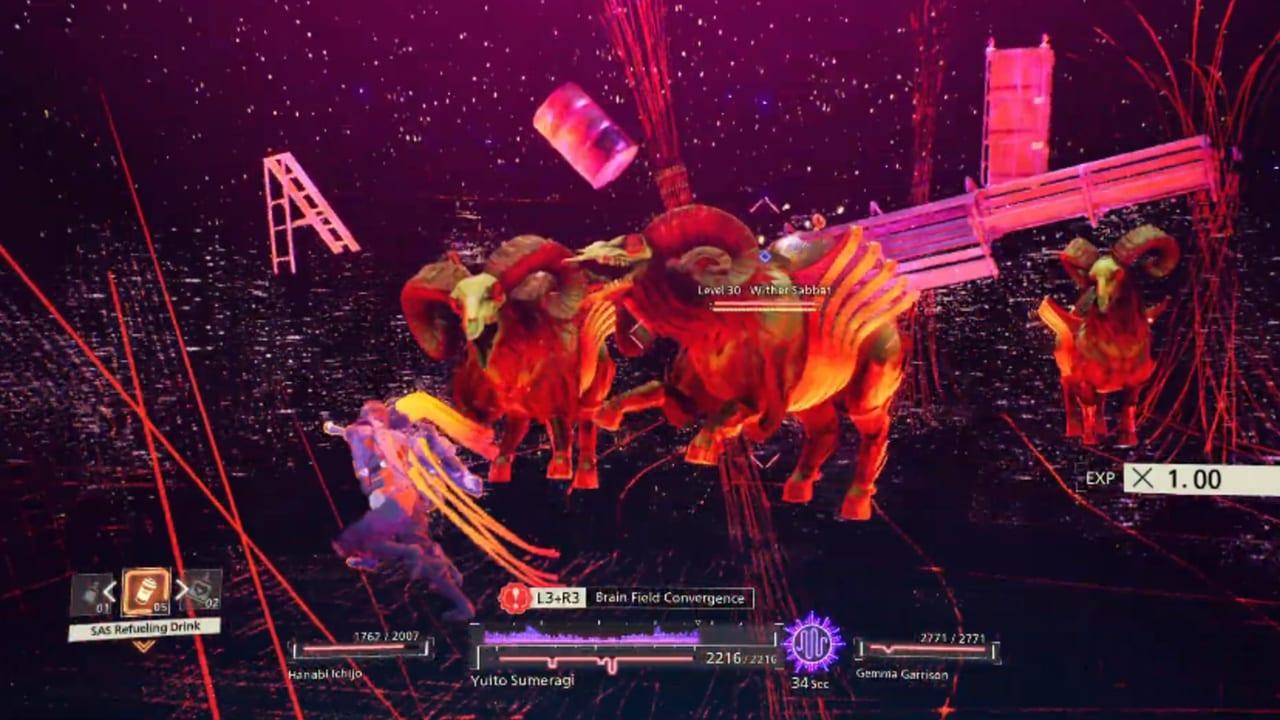 Scarlet Nexus Brain-Drive-Yuito