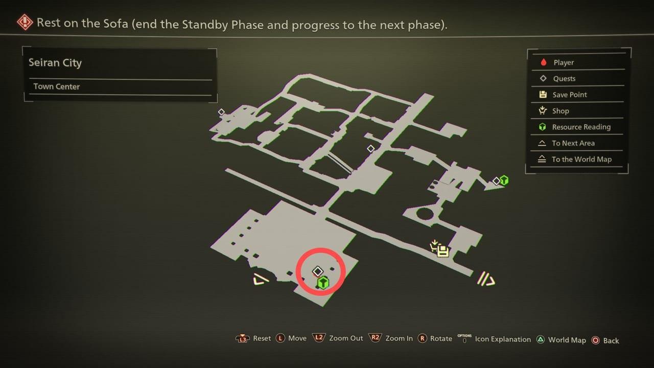Scarlet Nexus Easy-Victory-Map