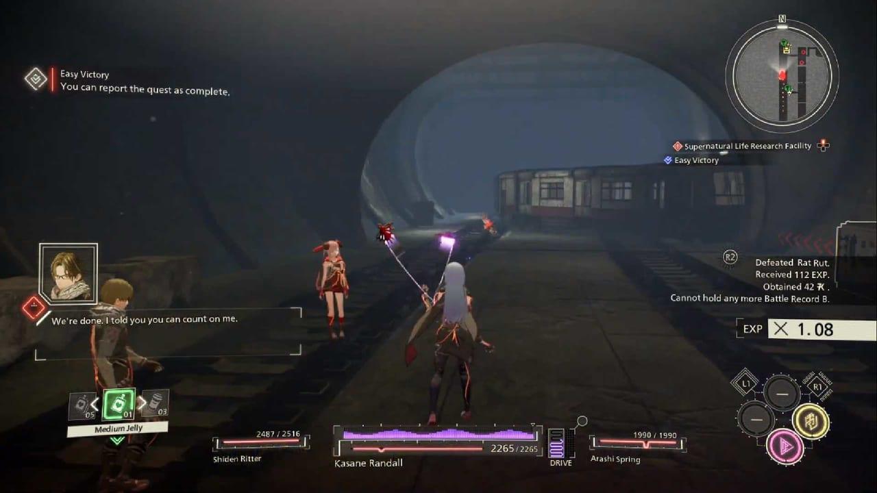 Scarlet Nexus Kasane-Attack