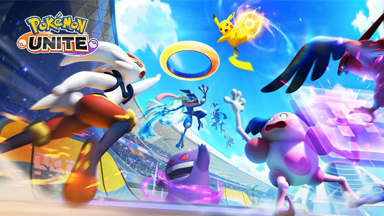 Pokemon UNITE - Nintendo Switch Release Date on July 21