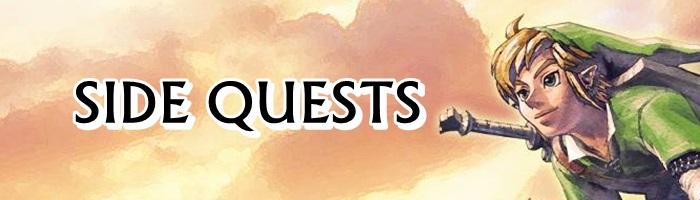 The Legend of Zelda: Skyward Sword HD - Side Quests Banner
