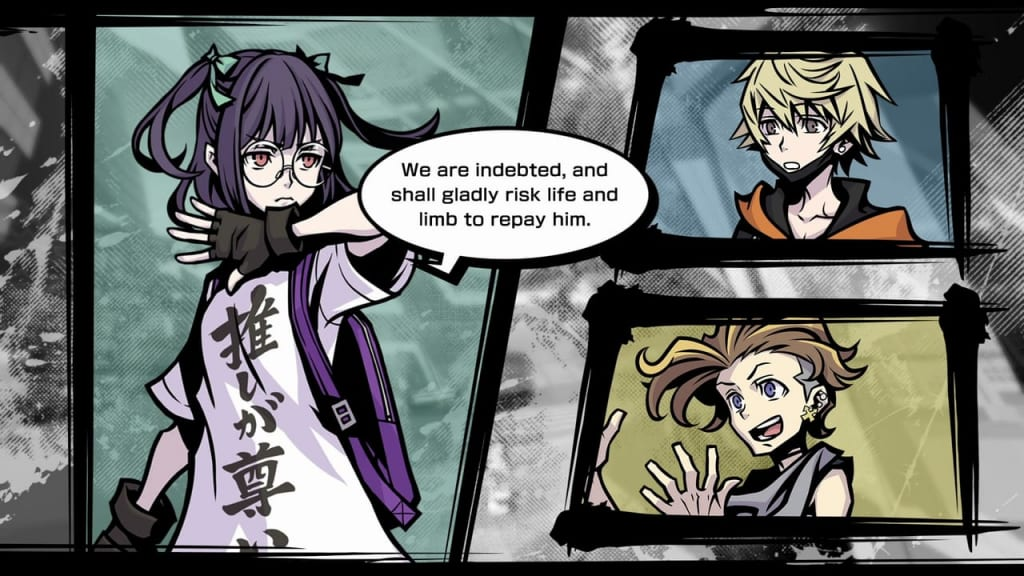NEO: The World Ends with You - Game and Character Style