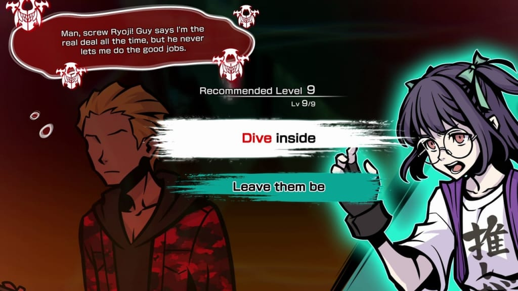 NEO: The World Ends with You - Nagi Dive Psychic Ability