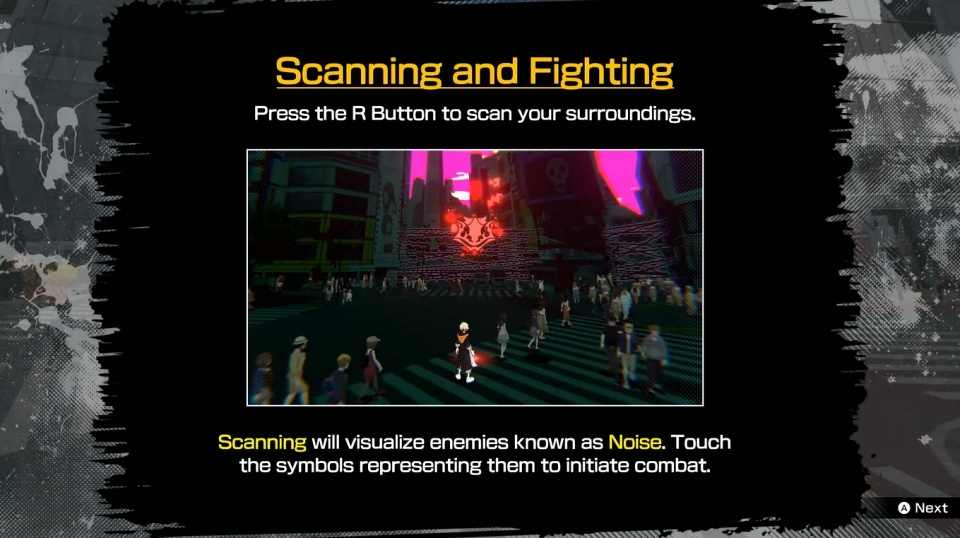 NEO: The World Ends With You - Scan Guide
