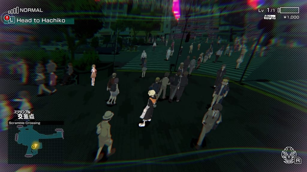 NEO: The World Ends with You - Week 1, Day 1 Head to Hachiko