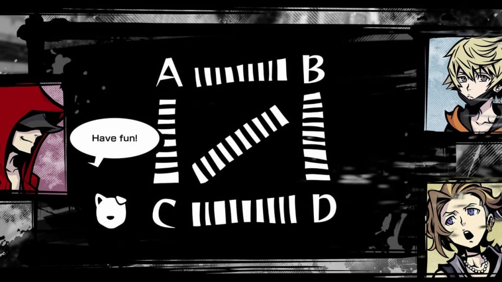 NEO: The World Ends with You - Week 1, Day 1 Find the four skulls hidden in the crossing