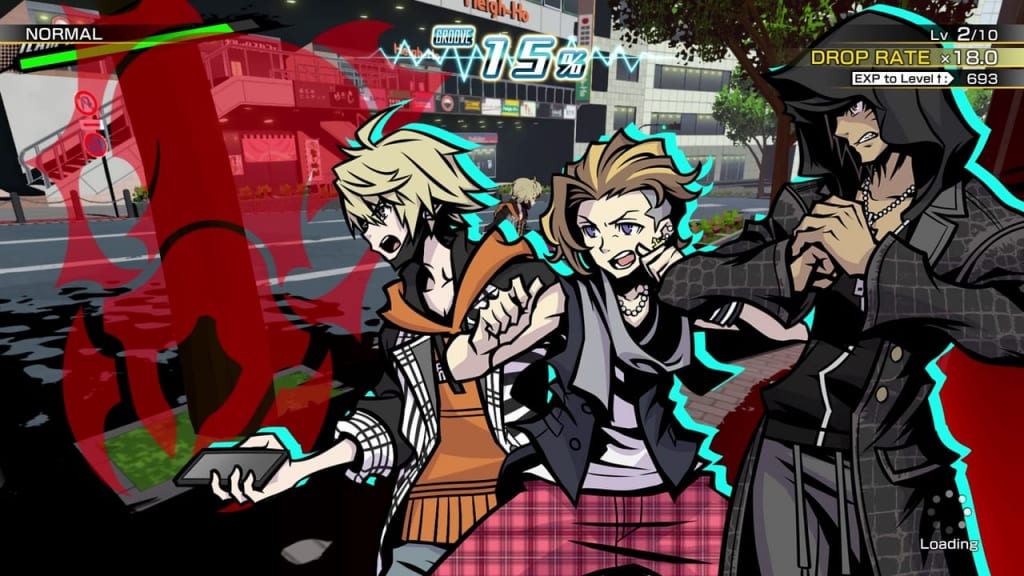 NEO: The World Ends with You - Week 1, Day 2 Chain Battles