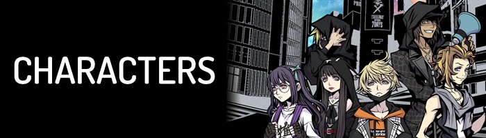 NEO: The World Ends with You - Characters Banner