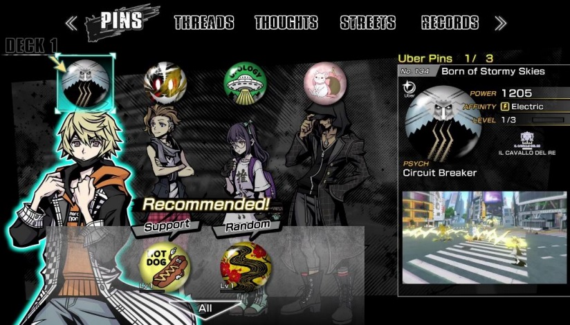 NEO: The World Ends With You - How to Get All Uber Pins