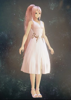 Tales of Arise - Shionne White One Piece Costume Outfit