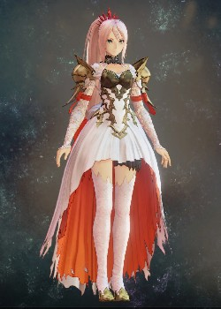 Tales of Arise - Shionne Noble Scarlet Costume Outfit