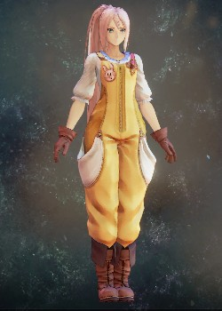 Tales of Arise - Shionne Farmer's Clothes Costume Outfit